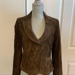 Classiques Entier Nordstrom brown suede M jacket